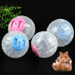 Sprzedaż oddychające jasne kulki bez wspornika chomik zabawka 2 rozmiar zwierząt domowych produkt mały do biegania Ball 2 kolory