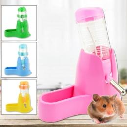 Chomik butelka na wodę małe akcesoria dla zwierząt automatyczne urządzenie do karmienia pojemnik na żywność 3 style 1 Pc Pet but