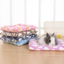 Małe zwierzę świnka morska chomik łóżko dom zimowe ciepłe wiewiórka jeż królik królik szynszyla łóżko mata dom Nest Hamster akce
