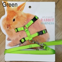 Zwierzęta domowe są królik miękkie szelki smycze korygujący Bunny trakcji liny do biegania E2S