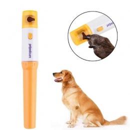2019 zwierzęta pies kot elektryczny paznokci pazur Grooming maszynki do mielenia maszynka do strzyżenia pliku zwierzęta domowe s