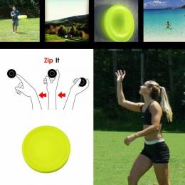Mini kieszonkowy elastyczne miękkie nowy Spin w wzrok gry latający dysk