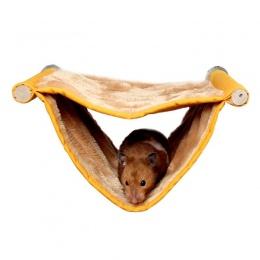 Top sprzedam Hamster wiszący dom klatka sypialnia gniazdo łóżko dla zwierząt domowych szczur chomika świnka morska zabawki króli