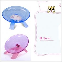 Zwierzęta domowe są kółko do ćwiczeń chomika płyty o średnicy 18 cm zwierzęta domowe są mysz sportowa z tworzywa sztucznego do b
