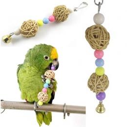 Hot multicolor koraliki ptak zabawki zwierzęta papuga zabawki ptak drabiny Parakeet huśtawka wiertła rainbow parakeet drabiny ch