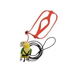 Anti-bite latające lina treningowa papuga ptak smycz zestawy Ultralight szelki smycze měkké przenośny Pet zabawki