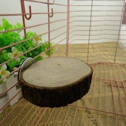 1 sztuk śmieszne moda papuga dla zwierząt domowych do żucia zabawki drewniane wiszące huśtawka klatka dla ptaków nimfa klatki