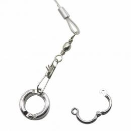 2 sztuk papuga noga pierścień ptak pierścień na świeżym powietrzu i działania szkoleniowe, otwarcie stóp pierścień akcesoria goł