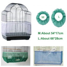 Receptora nasion osłona nylonowa siatka ptak papuga pokrywa, miękkie, łatwe do czyszczenia nylonowe przewiewne tkaniny siatki kl