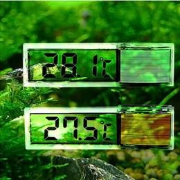 Nowy wielofunkcyjny LCD 3D cyfrowy elektroniczny pomiar temperatury Fish Tank miernik temperatury termometr do akwarium E2shoppi