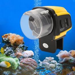 1 PC cyfrowy automatyczne elektryczne plastikowe akwarium podajnik czasowy domu zbiornik akwarium żywności żywienie przenośny ka