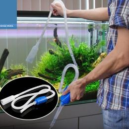 Gorąca sprzedaż 1.8 m syfon Gravel rura ssąca filtr akwarium Fish Tank próżniowe wymiana wody Cleaner syfon proste praktyczne