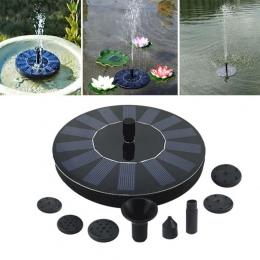 7 V fontanna solarna zestaw do podlewania energii słonecznej pompa basen staw/oczko wodne zatapialna wodospad pływające panel sł