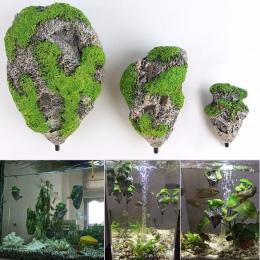 Pływające zawieszony sztuczny kamień akwarium wystrój akwarium dekoracji pływający pumeks latający rockowy Ornament