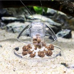 Ryby akwariowe roślin zbiornik z tworzywa sztucznego jasne ślimak pułapka Catcher rośliny planarne szkodników Catch Box pijawka