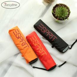 4 kolory mały kieszonkowy składany ołówek parasol ultra-cienki lekki mini parasol deszcz kobiety parasol dla mężczyzn słońce des