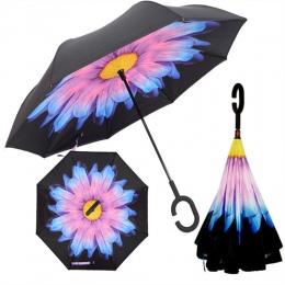 Odwrócony parasol podwójna warstwa słońce parasol kobiety deszcz odwrotnej parasole męskie guarda chuva invertido paraguas parap