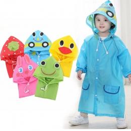 1 PC Cartoon zwierząt styl wodoodporna dziecięcy płaszczyk przeciwdeszczowy dla dzieci płaszcz przeciwdeszczowy odzież przeciwde