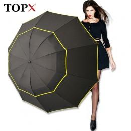 130 cm duże najwyższej jakości parasol mężczyzna deszcz kobieta wiatroszczelna duża Paraguas mężczyzna kobiet słońce 3 Floding d