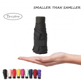 180g mały moda składane Parasol deszcz kobiety prezent mężczyźni Mini kieszonkowy Parasol dziewczyny anty-uv wodoodporna przenoś