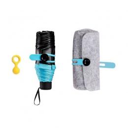 Moda parasole składane miniaturowy parasol kieszonkowy kobiety słoneczny i deszczowy przenośny małe słońce parasol deszcz nowe d