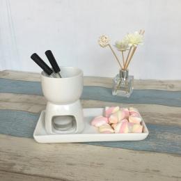 Mini zestaw do czekoladowego Fondue, Hightea można wybrać Fondue Pot, Mini serowe Fondue