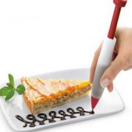 Ciasto silikonowe ciasto lody forma do ciastek czekoladowe dekorowanie strzykawka płyta malowanie żywności pisania dysze pióro a