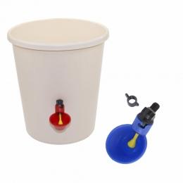 1 szt kurczaka kubek do picia automatyczne poidło podajnik drobiu z tworzywa sztucznego drobiu wody kubki do picia łatwa instala