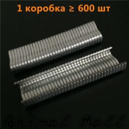 600 sztuk M kształt paznokci klatki dla zwierząt zainstalowany do paznokci klatka dla królika szczypce ptaki pies kot przepiórki