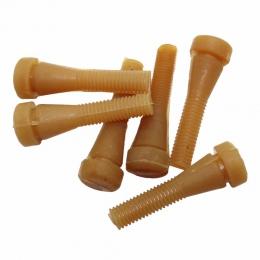 50 sztuk drobiu gumowym prętem gołąb przepiórki długość 6.2 cm gumy maszyna do usuwania klej w sztyfcie Plucker