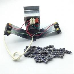 1 sztuk inkubator automatyczne toczenie jaj System 220 V/110 V 100 CM łańcuch kolej gęste jaja przemysłowe jaja silnika z