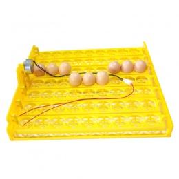 63 jaja inkubator automatyczny pojemnik na jajka jajko inkubator 110 v/220 v silniki nowy sprzęt inkubacji kurczaka wyposażenie