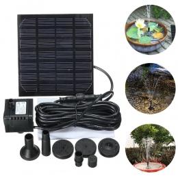 1.5 W Solar ogród pompa do fontanny W słonecznej fontanny ogrodowe wodospady energii słonecznej ptak fontanna wody zasilany ener