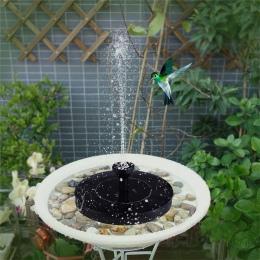 Pompa wodna zasilana energią słoneczną Panel zestaw liści lotosu pływające pompy pompa do fontanny na basen ogród staw podlewani