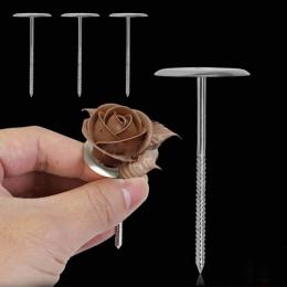 4 sztuk srebra ciasto narzędzie kwiat igły lukier krem piec ze stali nierdzewnej ciasto dekorowanie paznokci