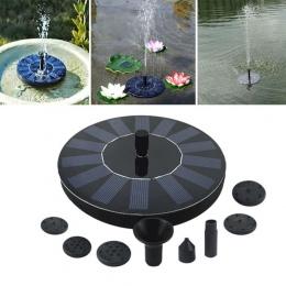 Pływające panel słoneczny fontanna wody do ogrodu pompa solarna staw/oczko wodne podlewanie głębinowa basen automatyczny słonecz