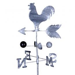 W stylu Vintage kogut wiatrowskaz Metal żelaza prędkości wiatru Spinner wskaźnik kierunku ogród ozdoba dekoracji Patio stoczni 1