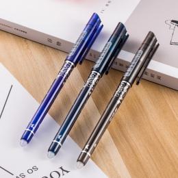 1 sztuk kasowalna długopis niebieski/czarny/niebieski atramentowy magiczny długopis materiały biurowe egzamin dla studentów Spar