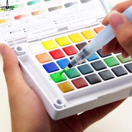 Wielokrotnego napełniania pędzel wodny pióro atramentowe do kolor wody kaligrafia malarstwo ilustracja długopis materiały biurow