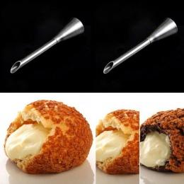 Desery dekoratorzy narzędzia do pieczenia ze stali nierdzewnej ciasto ciasteczka Puffs usta dysze ciasto porady dekorowanie narz