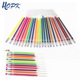12/24/36 kolor żel wkłady długopisowe zestaw brokat Multi kolorowe malarstwo pisanie pióro napełniania pręt do uchwytu szkoły na