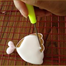 1 sztuk nowy ciasto rysik igły Model narzędzie oblodzenie Carve Sugar craft dekoracji herbatniki oblodzenie cukru igły narzędzia
