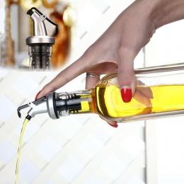 Oliwy z oliwek dozownik do oliwy dozownik na alkohol dozownik do wina Flip Top korek narzędzia kuchenne AUG6