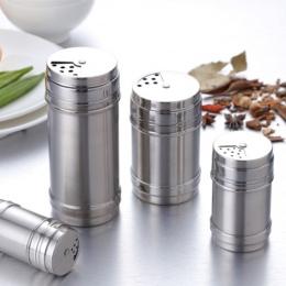 Przyprawy słoik kuchnia gadżety 1 sztuk puszka na przyprawy Spice młynek do pieprzu obrotowy pokrowiec wielofunkcyjny sól cukier