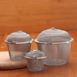 1 PC ze stali nierdzewnej zupa smak pudełko do przypraw kosz solanki gorący garnek żużel separacji durszlak sitko narzędzia kuch