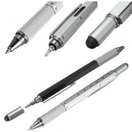 1 sztuk 7 kolor powieść wielofunkcyjny śrubokręt długopis ekran dotykowy metalowe narzędzie prezent szkolne biurowe supplie piśm