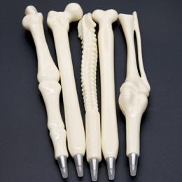 2019 szkoła dostaw 5 sztuk nowość długopis pisanie dostaw kształt kości długopis sprzedaż hurtowa nowy prezent szkolne materiały