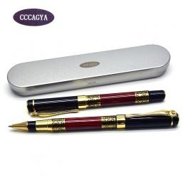 CCCAGYA A325 chiński metalowy długopis żelowy 0.5mm porada dowiedzieć się biuro artykuły szkolne na prezent luksusowe pióro hote