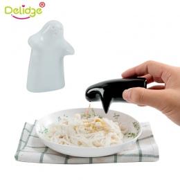 Delidge 2 sztuk/zestaw z tworzywa sztucznego czarny i biały przytulić pieprz słoik solniczka do przechowywania w kuchni w proszk