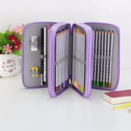 Oxford szkoła piórnik Kawaii 36/48/72 otwory kary piórnik duży długopis torba Box wielu dzieci wielofunkcyjne biurowe etui